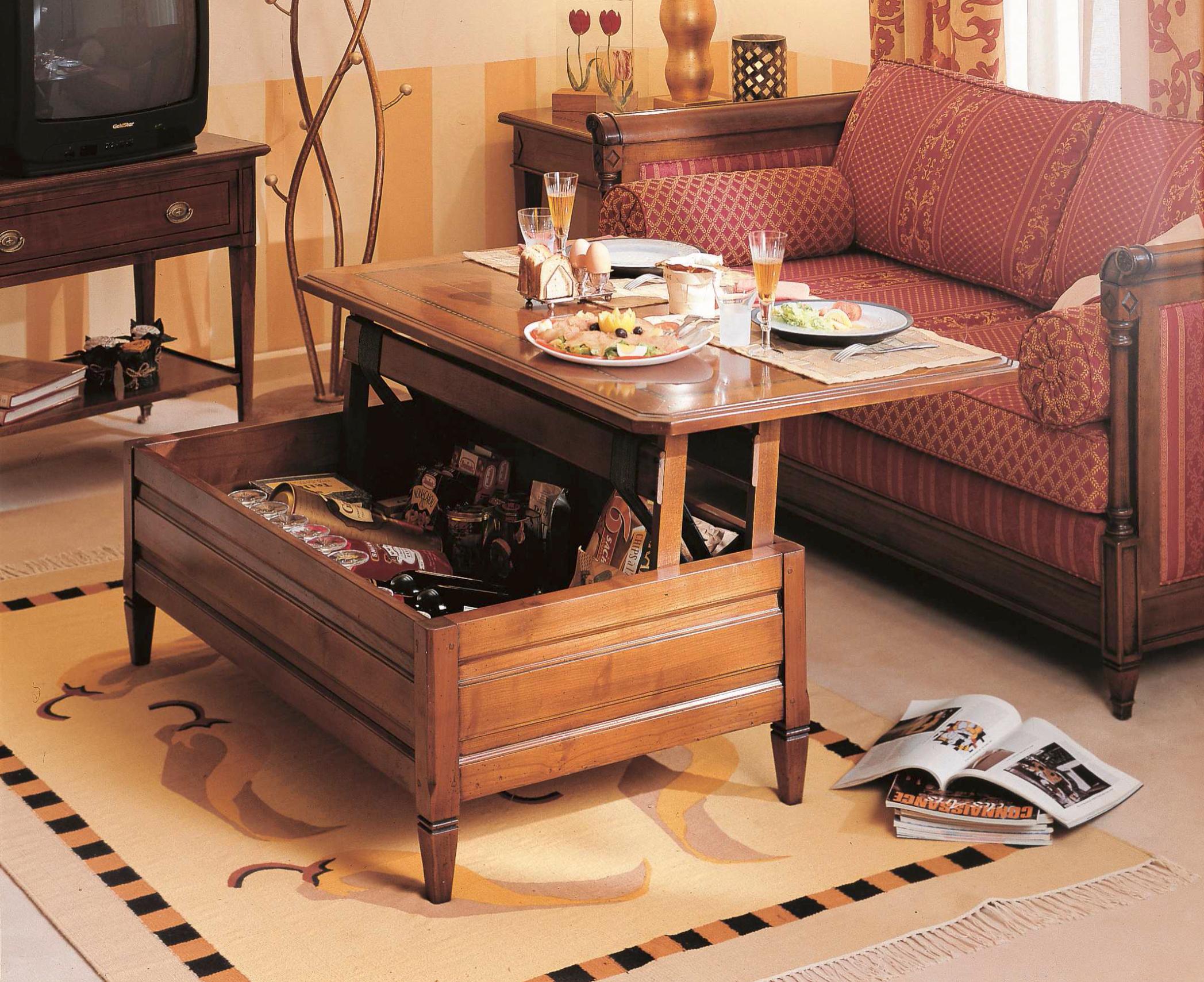 meubles richelieu tables basses de style directoire. Black Bedroom Furniture Sets. Home Design Ideas