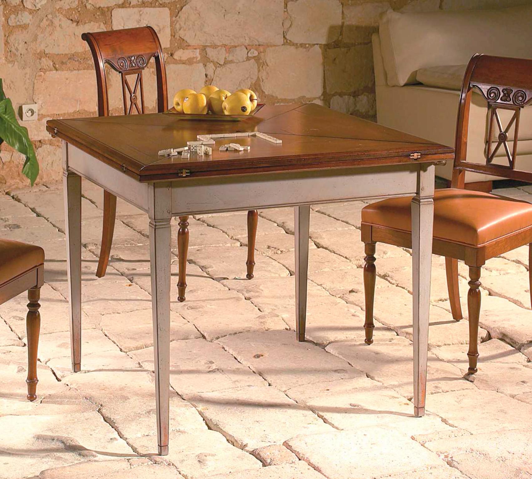meubles richelieu tables de repas de style directoire. Black Bedroom Furniture Sets. Home Design Ideas